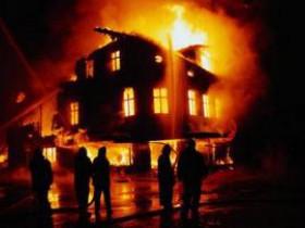 Что делать, если к населенному пункту приближается пожар?